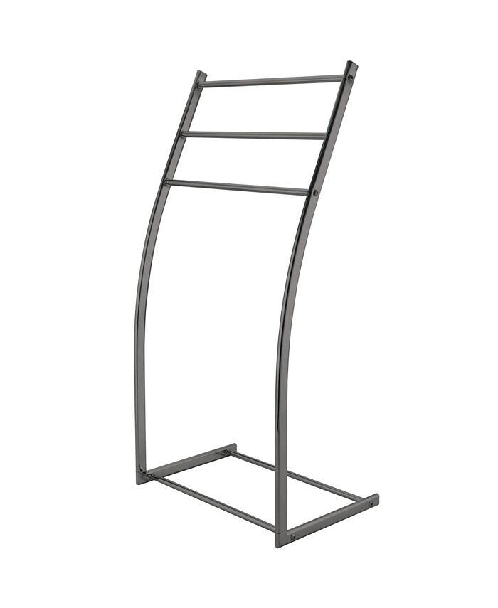 Kingston Brass - Modern Pedestal Steel Construction Towel Rack