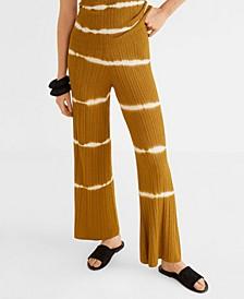 Tie-Dye Print Trousers