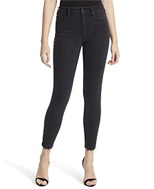 Jessica Simpson Junior Adored Curvy Hi Rise Ankle Skinny Jeans