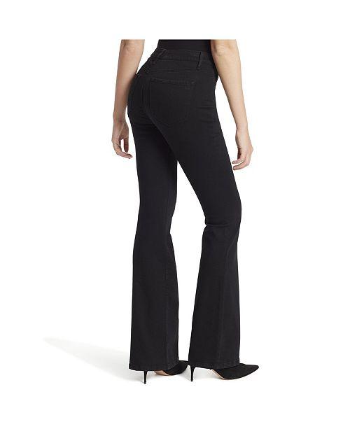 Jessica Simpson Junior's Adored Hi Rise Flare Clean Hem Jeans