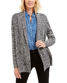 Marled Shawl-Collar Cardigan, Created for Macy's