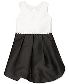 Speechless Toddler Girls Colorblocked Bubble Dress