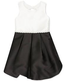 Speechless Little Girls Colorblocked Bubble Dress