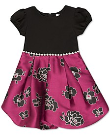 Toddler Girls Embellished Bubble Dress
