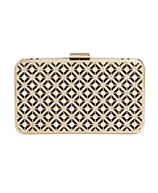INC Tess Pearl Sparkle Box Clutch, Created For Macy's
