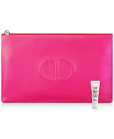 Receive a Complimentary Dreamskin Mini Deluxe and Pouch with any $150 Dior Beauty Purchase
