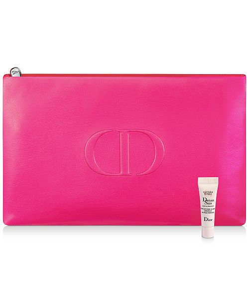 Dior Receive a Complimentary Dior Dreamskin Mini Deluxe and Pouch with any $150 Dior Beauty Purchase