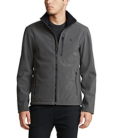 Men's Big & Tall Water-Repellent Softshell Jacket