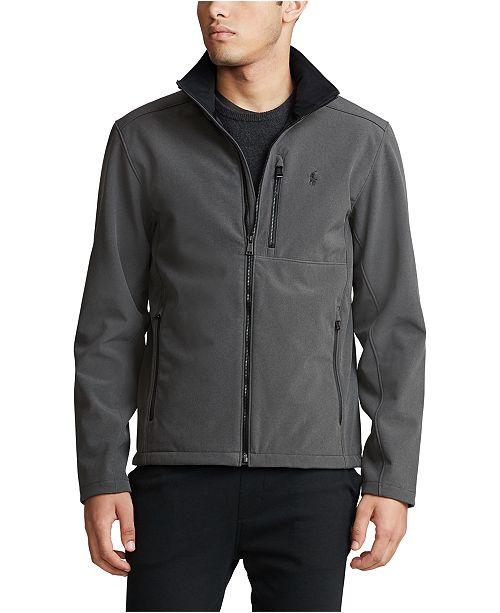 Polo Ralph Lauren Men's Big & Tall Water-Repellent Softshell Jacket