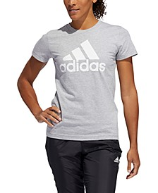 Women's Cotton Badge of Sport T-Shirt