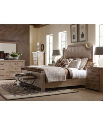 Monteverdi Upholstered Bedroom Furniture 3-Pc. Set (King Bed, Nightstand & Chest)