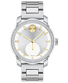 Women's Swiss BOLD Stainless Steel Bracelet Watch 36mm