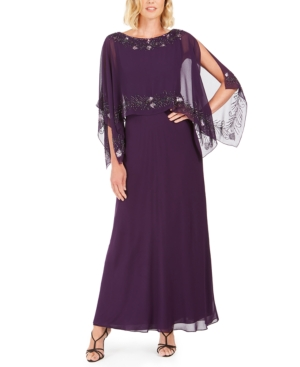 Vintage Evening Dresses and Formal Evening Gowns J Kara Embellished Gown $107.53 AT vintagedancer.com