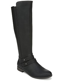 Dr. Scholl's Women's Reach For It Wide Calf High Shaft Boots