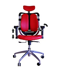 Tribeca Office Ergonomic Adjustable Chair with Adjustable Handles