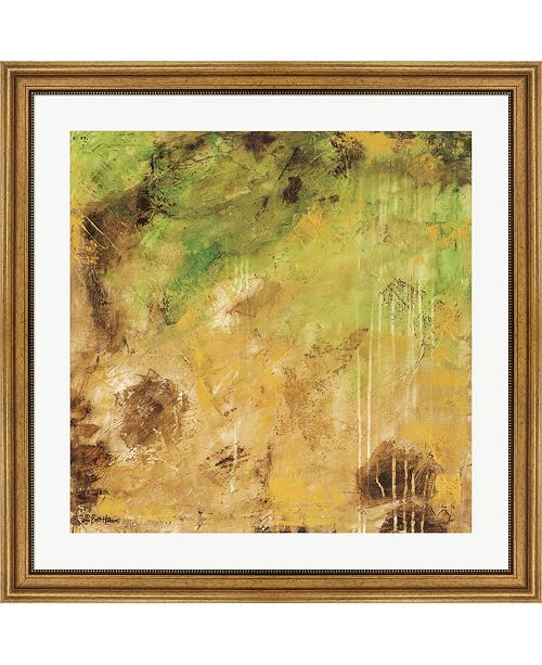"""Metaverse Finding The Golden Lining by Britt Hallowell Framed Art, 32"""" x 32"""""""