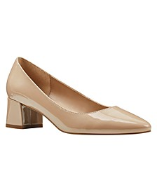 Aleth Almond Toe Pumps