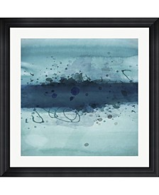 """Into The Deep I by Posters International Studio Framed Art, 32"""" x 32"""""""