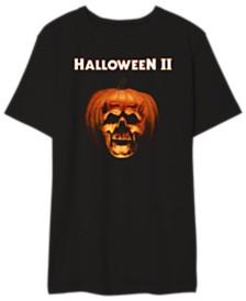 Halloween II Men's Pumpkin Skull Graphic Tshirt