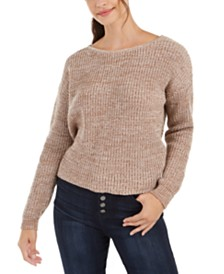 Roxy Juniors' Twisted-Back Sweater