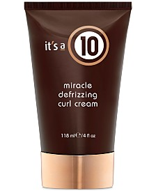 It's a 10 Miracle Defrizzing Curl Cream, 4-oz., from PUREBEAUTY Salon & Spa