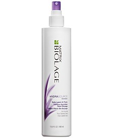 Matrix Biolage Hydrasource Daily Leave-In Tonic, 13.5-oz., from PUREBEAUTY Salon & Spa
