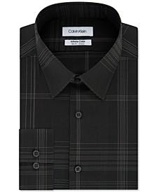 Men's Infinite Color Slim-Fit Non-Iron Stretch Check Dress Shirt