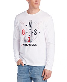 Men's Boat and Flag Reissue Graphic Shirt