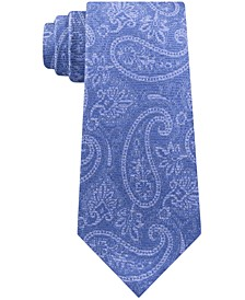 Men's Artisinal Shadow Paisley Tie