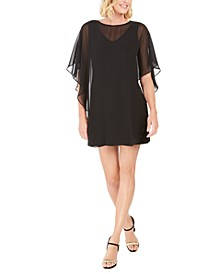 Petite Overlay Dress