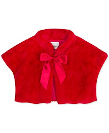 Big Girls Faux-Fur Bolero