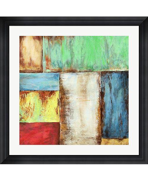 """Metaverse Desert Breeze by Anne Munson Framed Art, 32"""" x 32"""""""