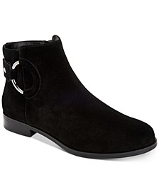 Women's Step 'N Flex Avvia Leather Booties , Created for Macy's