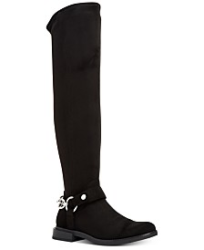Calvin Klein Akia Stretch Over-The-Knee Boots