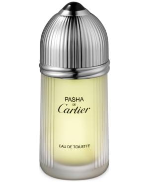 Cartier Mens Pasha de Cartier Eau de Toilette Spray, 3.3 oz.