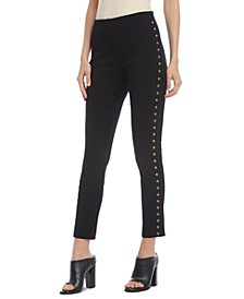 Piper Studded Pull-On Pants