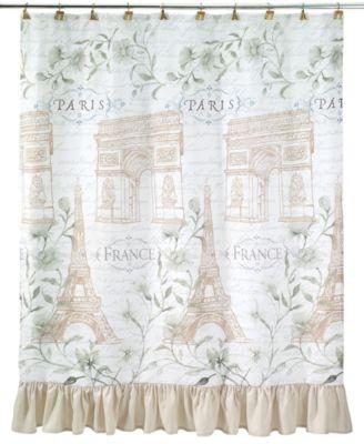 Paris Botanique Shower Curtain