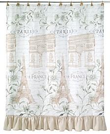 Paris Botanique Shower Curtain