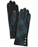 Lauren Ralph Lauren Novelty 3-Button Gloves