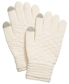 Lurex Zig Zag iTouch Gloves