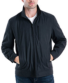 London Fog Men's Audobon II Bonded Microfiber Hipster Jacket