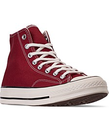 Men's  Chuck Taylor All Star 70 Chenille High Top Casual Sneakers from Finish Line