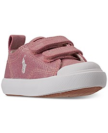 Toddler Girls Kingsley EZ Stay-Put Closure Casual Sneakers from Finish Line
