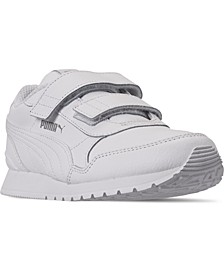 Little Boys ST Runner V2 Leather Hook-and-Loop Casual Sneakers from Finish Line