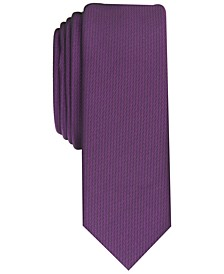INC Men's Diamond Solid Skinny Tie, Created for Macy's