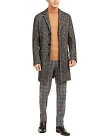 HUGO Hugo Boss Men's Migor Slim-Fit Tweed Twill Overcoat