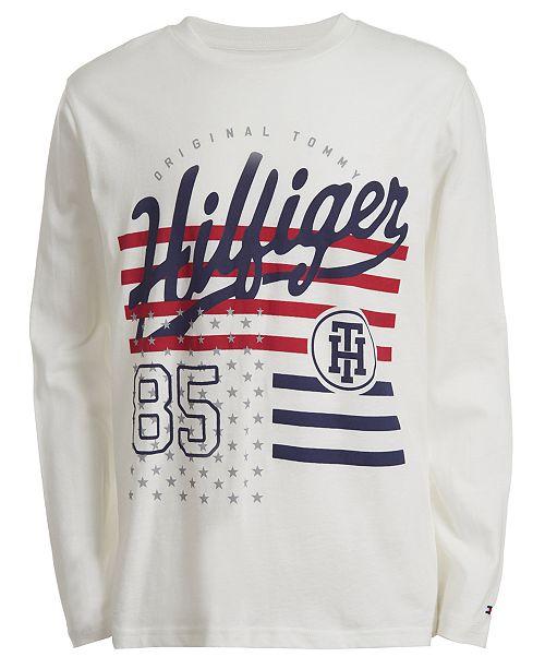 Tommy Hilfiger Little Boys Dexter Logo T-Shirt