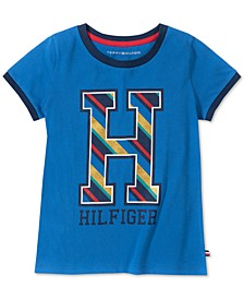 Toddler Girls Cotton Big H T-Shirt