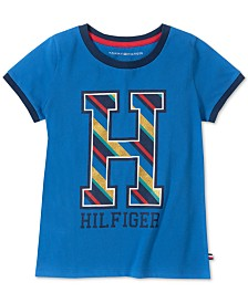 Tommy Hilfiger Toddler Girls Cotton Big H T-Shirt