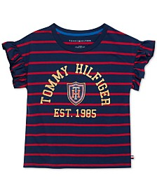 Tommy Hilfiger Little Girls Heritage Striped T-Shirt